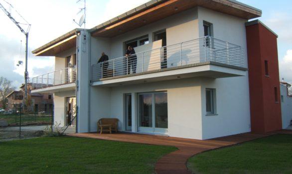 Nuova costruzione di edificio bifamiliare a FERRARA