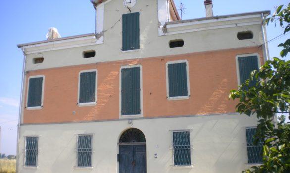 Miglioramento sismico edificio rurale CENTO