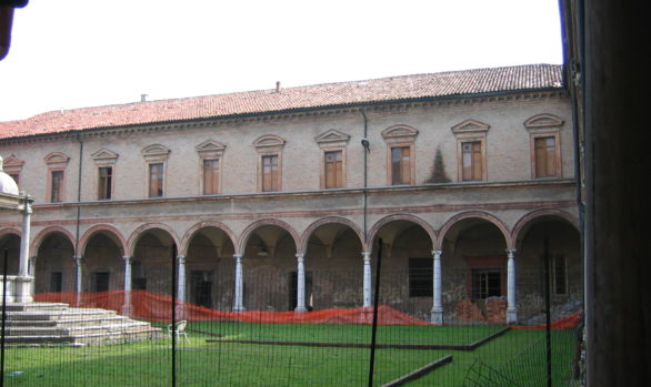 Restoration of annexes of San Benedetto Cloisters FERRARA