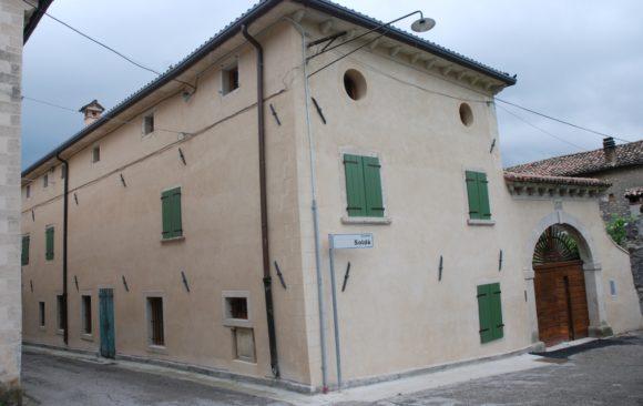 Restauro edificio storico a MIANE (TV)
