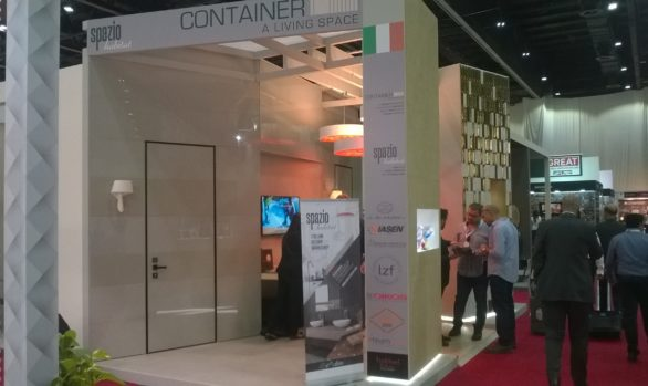Exhibition stand HS Dubai (UAE)
