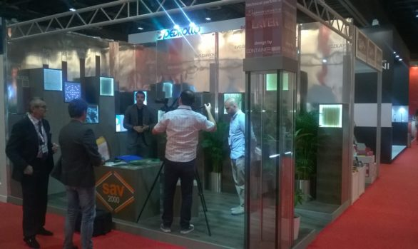 Exhibition stand Big 5 Show DUBAI (UAE)