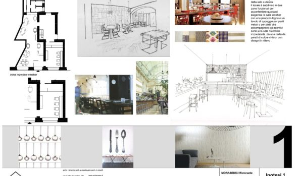 Restaurant design MILANO